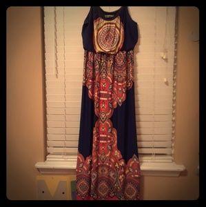 Max studio maxi dress.  Mint condition